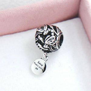 Authentic Pandora Silver ALE Openwork Dragonfly